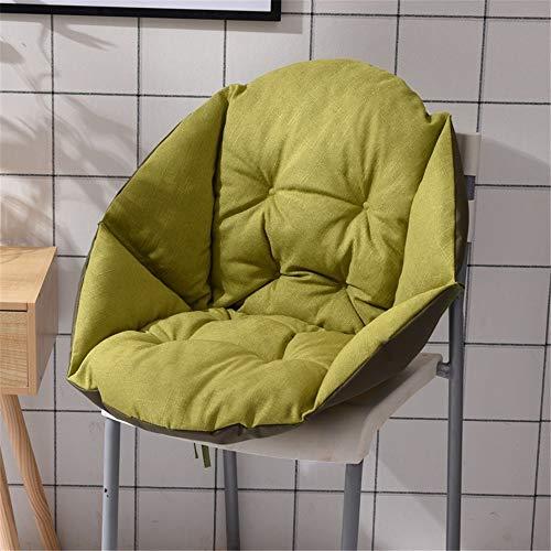 Felpa linda super cómodo cojín de asiento suave Cojín de escritorio Silla Silla cojines de respaldo Cojines de oficina silla de la cocina de sillón reclinable Acampar silla de la cocina