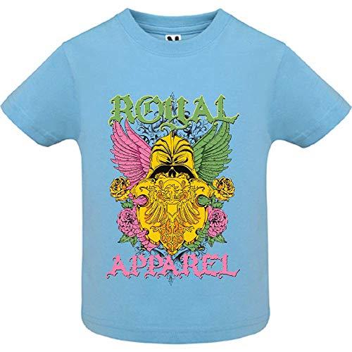 LookMyKase T-Shirt - Royal Apparel - Bébé Garçon - Bleu - 2ans