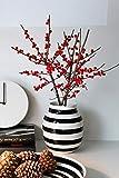 Kähler Omaggio Vase, Keramik, Schwarz-Weiß 20 x 16,5 cm - 5