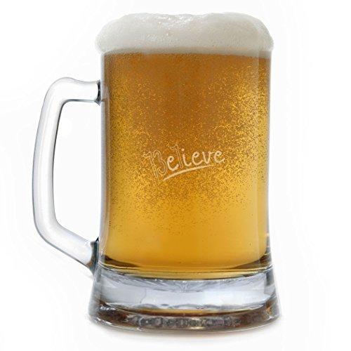 Bierkrug 13.1 Believe Trinkgläser Beste Geschenke für Weinliebhaber Bier Verkostungsglas
