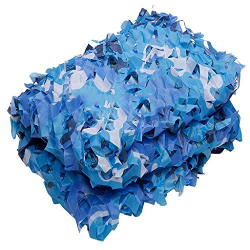 Carl Artbay Zonnescherm Ocean Blue Camouflage Net strand zonnecrème voor kinderen hol decoratief camo net Cs spel thema bar restaurant lay-out paintball spel verborgen auto stofbescherming camouflage