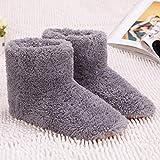 Elektrische Fußwärmer, Fußwärmer USB Winter Wärmende Heizschuhe mit Weicher Sohle Fußwärmer für Büro Damen Größe 39~43, Weihnachtsgeschenk für Ihren Liebhaber