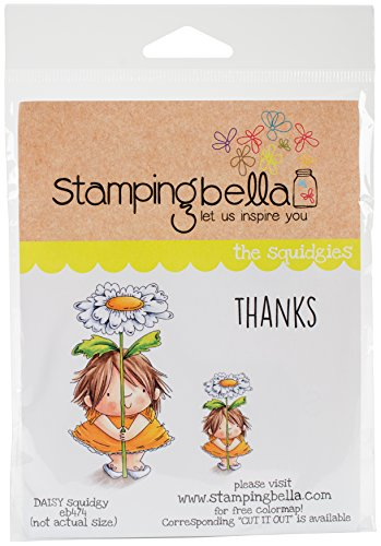 Stamping Bella EB474 Cling Stamps-Daisy Squidgy