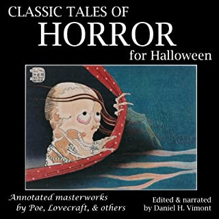 Classic Tales of Horror for Halloween audiobook cover art