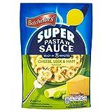 Batchelors Pasta 'N' Sauce - Pasta con puerro y jamón - 110 g - Pack de 6 unidades...