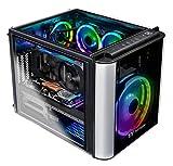Thermaltake LCGS L20 AVT-02 AIO Liquid Cooled CPU Gaming PC (AMD RYZEN 5 3600X 3.8GHz, DDR4 3200Mhz 16GB RGB Memory, RTX 2060 Super 8GB, Gen4 NVMe 1TB Storage, Win 10 Pro) L2VT-X570-AT2-LCS