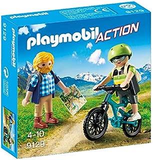 Playmobil- Ciclista y Excursionista (9129)
