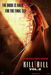 Kill Bill VOL. 2 Uma Thurman Bride Double-Sided 27x40 Original Movie Poster
