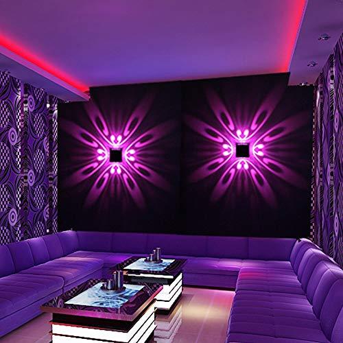 Wandleuchte Für Schlafzimmer Wandleuchte Innen Beleuchtung Nachtlicht Studio Küche Runter Interieur Hall Restaurant Treppen Korridor Bunte Lichter Hotel Ktv Bar Rgb Romote Steuerung