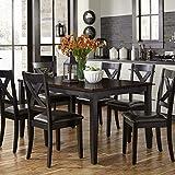 Liberty Furniture Industries Thornton II 7 Piece Rectangular Table Set, W36 x D60 x H30
