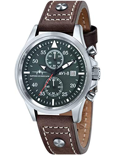 AVI-8 AV-4013-SETA-01 Hawker Hurricane - Set regalo, 45 mm, 5 ATM