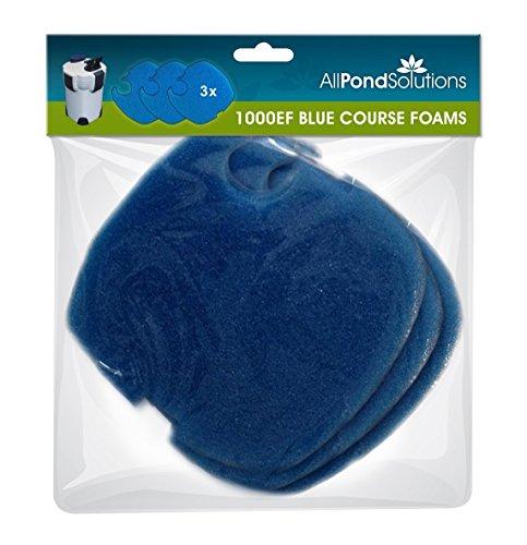 All Pond Solutions 1000EF Aquarium External Fish Tank Filter Floss Foams...