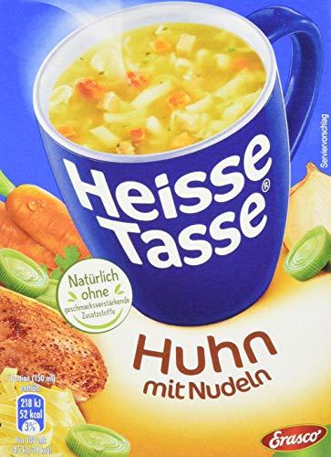 Erasco Heisse Tasse Huhn, 12er Pack (12 x 450 ml Beutel)