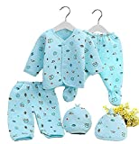Care Instructions: Hand Wash Only Fit Type: Fits true to size, take your normal size SIZE-0-3 MONTHS BABY 100% brand new and high quality Soft and breathable healthy cotton fabric Comfortable to touch and wear Animal pattern on the tops,footed, warm ...