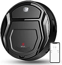 Lefant Robot Vacuum Cleaner, Auto Robotic Vacuums, Upgraded 6D Collision Sensor, 1800pa WiFi/App/Alexa, Self-Charging, Super Quiet Mini Cleaning Robot for Pet Hair, Hard Floor, Low Pile Carpets, M201
