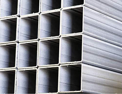 Perfil Tubo Cuadrado Soldado Acero Galvanizado 1,5mm Espesor (20 x 20 x 2000)