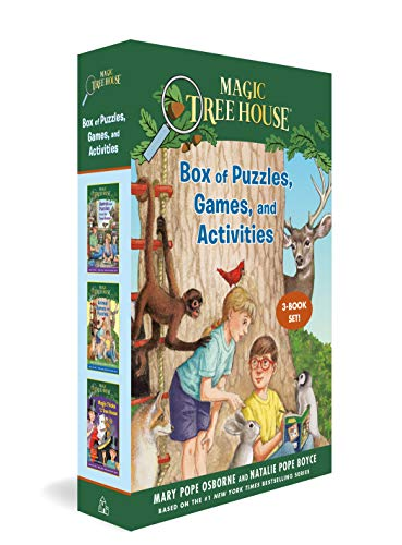 Compare Textbook Prices for Magic Tree House Box of Puzzles, Games, and Activities 3 Book Set Magic Tree House R  ISBN 9780593373118 by Osborne, Mary Pope,Boyce, Natalie Pope,Murdocca, Sal