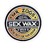 (3 PCs/Pack) Mr Zogs Sex Wax 3x4 Inch Die-Cut Stickers Decals for Laptop Window Car Bumper Helmet Water Bottle