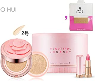 [オフィ/ O HUI]ohui Ultimate Cover Moisture Rose Petal Cushion #02. 15g (Genuine) 1EA + 15g (Refill) 1EA/アルティメットカバーモイスチャーローズペタル2号+ [Sample Gift](海外直送品)