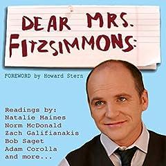 Dear Mrs. Fitzsimmons