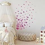 RoomMates - Adhesivo decorativo para pared, diseño de mariposas