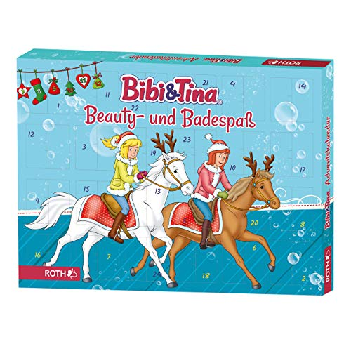 ROTH Bibi und Tina-Adventskalender 2019 gefüllt mit Beauty- und Badespaß für Mädchen und Pferdefreundinnen
