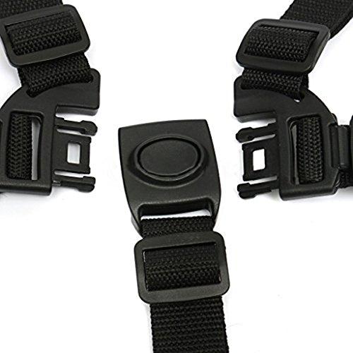 Nuolux, cintura di sicurezza per passeggino, sistema a 5 punti