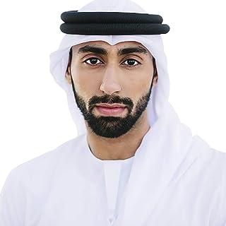 HOMELEX Arab Kafiya Keffiyeh Middle Eastern Scarf Wrap with Aqel Rope