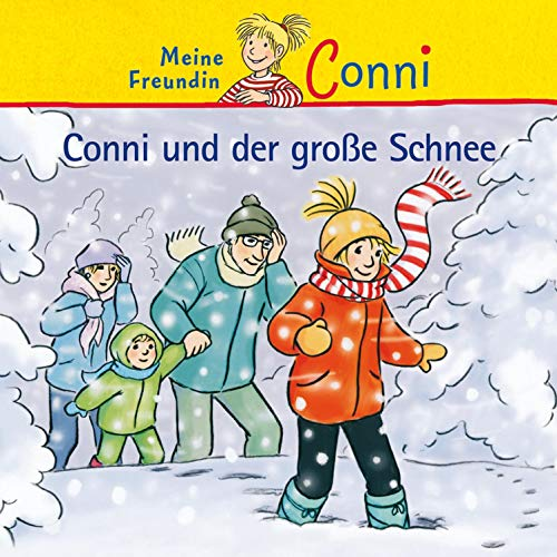 Conni und der große Schnee Titelbild