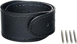 ソニー [wena project] wena 3 leather band 22mm Premium Black WNW-CB2122/B