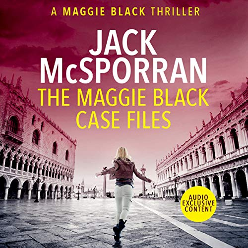 The Maggie Black Case Files audiobook cover art