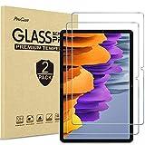 ProCase 2 Pcs Protector de Pantalla para Galaxy Tab S7 (Model SM-T870 T875 T878) 11' 2020, Screen Protector/Vidrio Templado Anti-Huellas, Película Protectora para 11 Pulgadas Galaxy Tab S7 Tablet