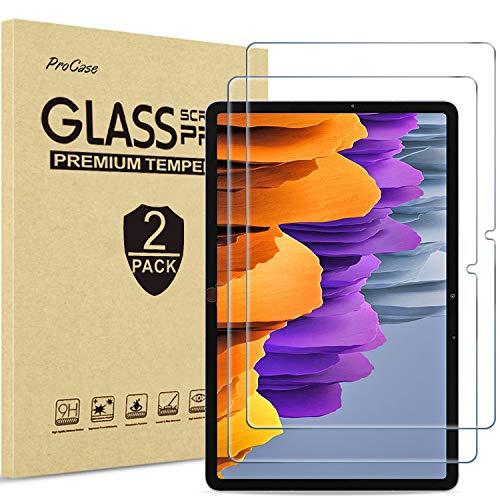 [2 Stück] ProHülle Panzerglas Bildschirmschutzfolie für Galaxy Tab S7 (SM-T870/SM-T875/SM-T878, 11 Zoll, 2020 Release), Schutzfolio Screen Protector, Schutzglas –Klar