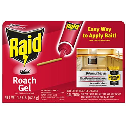 Raid Roach Gel 1.5 Ounce (Pack of 3)