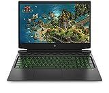 HP Pavilion Gaming 16-a0242ng (16,1 Zoll / Full HD 60Hz) Gaming Laptop (Intel Core i5-10300H quad, 16GB DDR4 RAM, 512GB SSD, Nvidia GeForce GTX 1650Ti 4GB, Windows 10) schwarz / grün