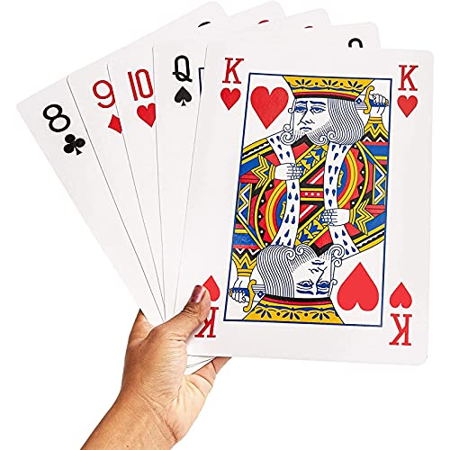 Jumbo playing cards gift ideas for the letter J