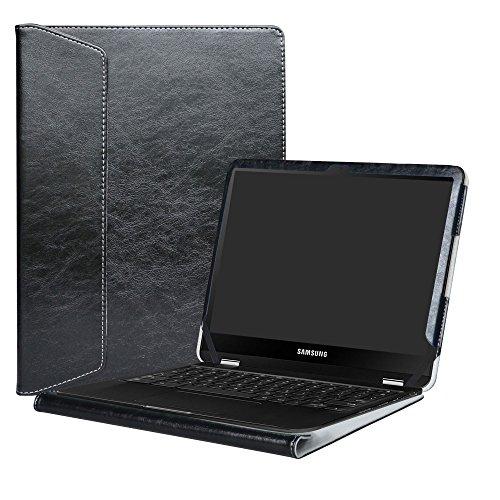 "Alapmk Protective Case Cover for 12.3"" Samsung Chromebook Pro XE510C24 XE510C25/Chromebook Plus XE513C24 Laptop(Warning:Not fit New Samsung Chromebook Plus V2 XE521QAB-K01US),Black"