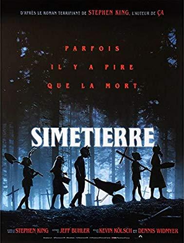 Simetierre Affiche Cinéma Originale Petit Format (53x40 cm PLIEE) Stephen King