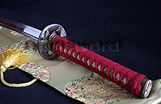 Hand Made Clay Tempered 1095 High Carbon Steel Japanese Samurai Katana Sword