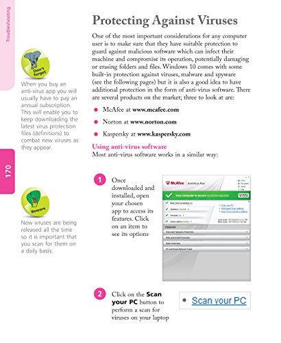 Laptops for Seniors in easy steps - Windows 10 Edition