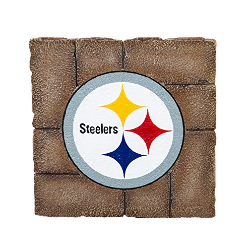 Team Sports America Pittsburgh Steelers Garden Paver Team Logo Decorative Stepping Stone