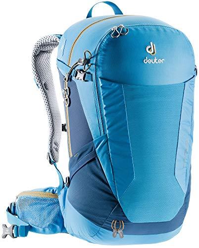 Deuter Futura, Unisex - Adulto, Zaino da escursionismo (fino a 45 L), 3400518, Acciaio azzurro, 28