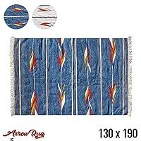 ラグ モリヨシ MORIYOSHI アロー ラグ Arrow rug 130x190MR1725 マット 絨毯 じゅうたん カーペット ネイビー