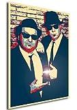 Instabuy Poster Blues Brothers - Propaganda Full - Scene
