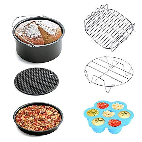 LEMAIC accesorios para freidora de aire caliente - Bandeja de hornear para niños con revestimiento antiadherente para XL 3.2 litros Princess, Philips, Tristar