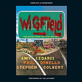 Wigfield audiobook cover art
