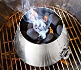 LUTANI BBQ Kettle Grills 22 26.75 WSM - Stainless Steel BBQ Kettle Grill Accessories -Barbecue...