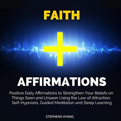 Faith Affirmations audiobook cover art