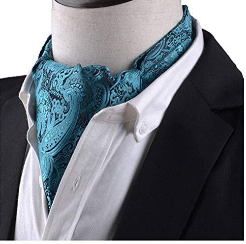 Bandana Bifacciale Uomo Sciarpa Inghilterra Retro Classiche Completo Sciarpe Moda Camicia Scollatura Sciarpa Piccolo Ragazzi (Color : L240, Size : Size)
