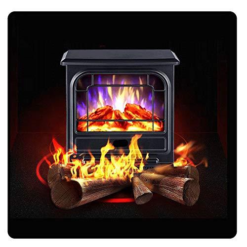 CAISYE Elektrokamin Mit Heizung, Kaminofen Wandkamin, 900W/1800W Elektrisch Heater, LED-Laterne Mit Dekokamin Flammeneffekt, Elektrischer Kamin Heizlüfterfunktion